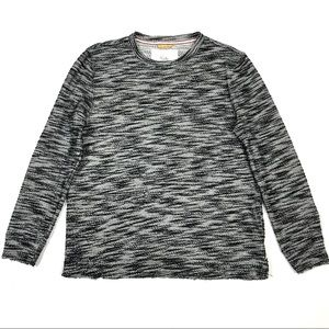 Koto Urban Outfitters mens raw adges sweater